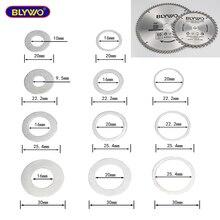 Адаптер шайба диск циркулярной пилы кольца для уменьшения преобразования кольцо отрезной диск диафрагмы прокладка внутреннее отверстие п...