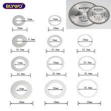 Adaptateur rondelle lame de scie circulaire anneaux réducteurs anneau de Conversion disque de coupe joint d'ouverture trou intérieur anneau adaptateur