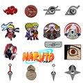 15 видов стилей Аниме «Наруто» Eanmel Броши с рисунком из аниме «Наруто» блестящий значок ювелирные подарки для детей друзей сумки украшения на...