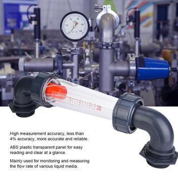 LZS-50W miernik przepływu 1-10m3 H rura z tworzywa sztucznego ZG2 cal NPT2 cal płyn rotametr przepływomierz wody przyrząd do pomiaru przepływu testowanie wody miernik tanie i dobre opinie VBESTLIFE Hydraulika
