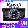 Автомагнитола 2 ГБ + 32 ГБ Android 9,0 для Mazda 3 2004-2013 maxx axel Wifi автомобильная стереосистема dvd gps навигация стерео Мультимедийный Плеер