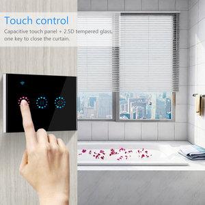 Image 4 - Ue/usa wifi touch przełącznik Ewelink bezprzewodowy sterowania kurtyny garaż silnik migawki drzwi inteligentny włącznik wifi praca z Alexa/Google domu