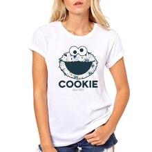 Teehub/Модная женская футболка с принтом монстра, футболка с круглым вырезом и короткими рукавами, хипстерские футболки, топы для девочек