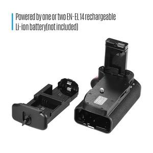 Image 3 - Soporte Vertical de batería para cámara Nikon D5100 D5200 DSLR, EN EL, 14 pilas, mando a distancia IR, agarre Vertical