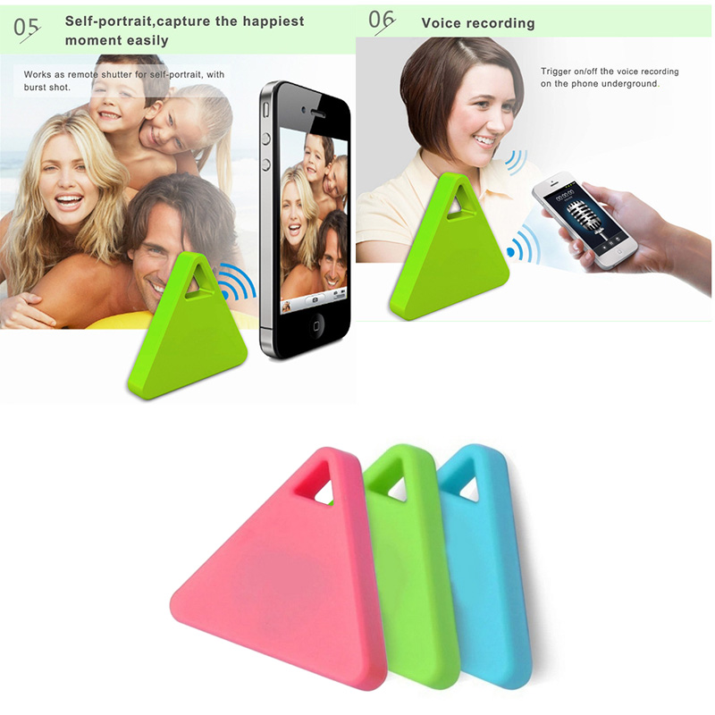 Bluetooth 4.0 Wireless Anti-Lost Anti-theft Alarm Device Tracker GPS Locator Key/Cat Wallets Finder Trackers AS99