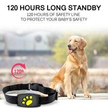 Водонепроницаемый gps-трекер для домашних животных ошейник для собак кошек собак gps позиционер локатор устройство USB кабель перезаряжаемый забор для безопасности домашних собак