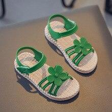 Children's Shoes Princess Sandals Gladiator Girls Summer-Style Kids Flat Soft Beautiful