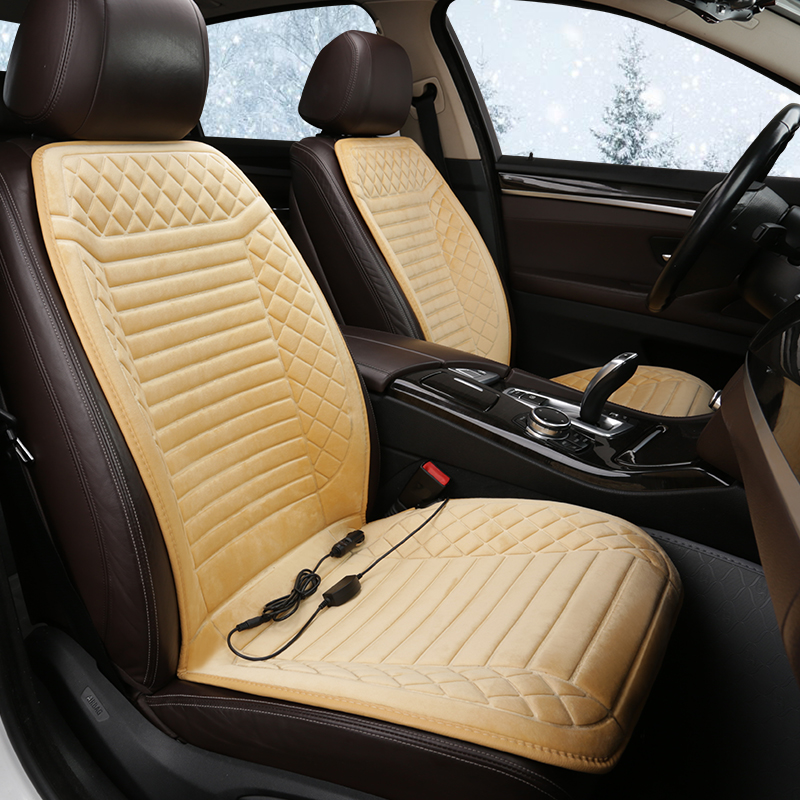 12V Heated Car Seat Cover for <font><b>Citroen</b></font> <font><b>Berlingo</b></font> C2 C3 Aircross Picasso C4 Cactus <font><b>2012</b></font> Grand Spacetourer Picasso C5 Xsara Picasso image