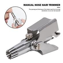 Razor Nose-Hair-Trimmer Manual-Cutter Nasal-Shaver Ear-Hair Multi-Functional Practical