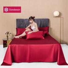 Sondeson современный 100% хлопок винно красный женский плоский