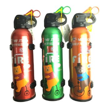 Portable Car Fire Extinguisher With Hook Dry Chemical Fire Extinguisher Safety Flame Fighter Home Office Car fire extinguisher shaped land line telephone