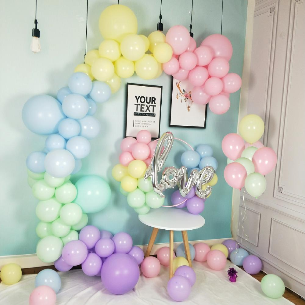 30pcs/lot <font><b>10</b></font> inch Multicolor Macaron Latex balloons Baby Shower Girl <font><b>Birthday</b></font> Party Wedding <font><b>Birthday</b></font> <font><b>Decoration</b></font> Supplies image