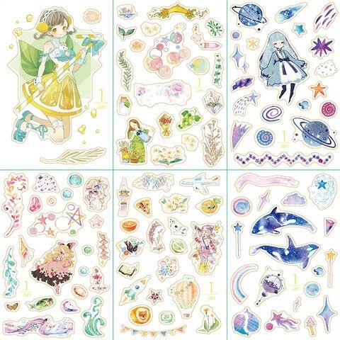 20 conjunto kawaii papelaria adesivos dezembro menina diario planejador decorativo movel adesivos scrapbooking diy artesanato