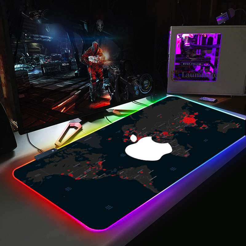 Map apple