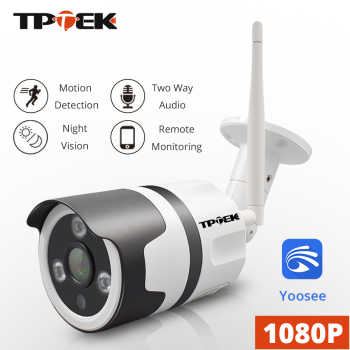 WiFi Outdoor IP Camera Wi-Fi 1080P Wireless Waterproof Security Camera 2MP Yoosee Two Way Audio CCTV Surveillance Bullet Camara - DISCOUNT ITEM  50% OFF All Category