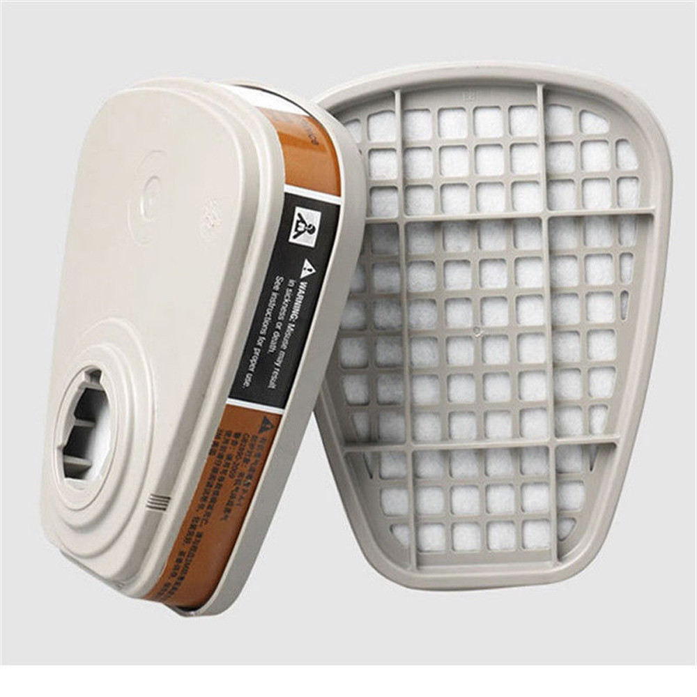Best Selling 2020 Products 2pc 6001cn Organic Respirator Filter Cartridge For 3-m 7502 6200 Gas Cover Dropshipping Wholesale