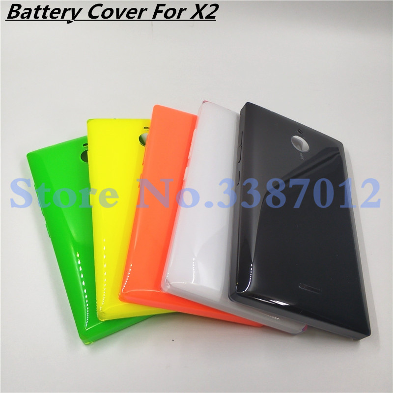 New Original For <font><b>Nokia</b></font> x2 Dual SIM RM-<font><b>1013</b></font> X2DS Back Case Battery Cover Door With Side Bottons image