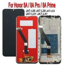 6.09 スクリーンhuawei社の名誉8AプロJAT L29 LX1 L41タッチスクリーンディスプレイデジタイザアセンブリのためのフレームガラス8A液晶