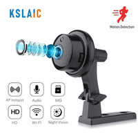 KSLAIC Mini Wifi IP Camera 2.0MP Wireless Hidden CCTV IR Night Vision Motion Detection Home Security Surveillance Micro Camera