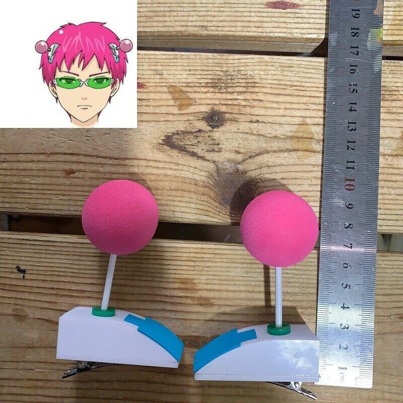 BIG  Saiki Kusuo No Psi Nan Sainan Hair Pin Hairpin Cosplay Prop 1 Pair 9cm