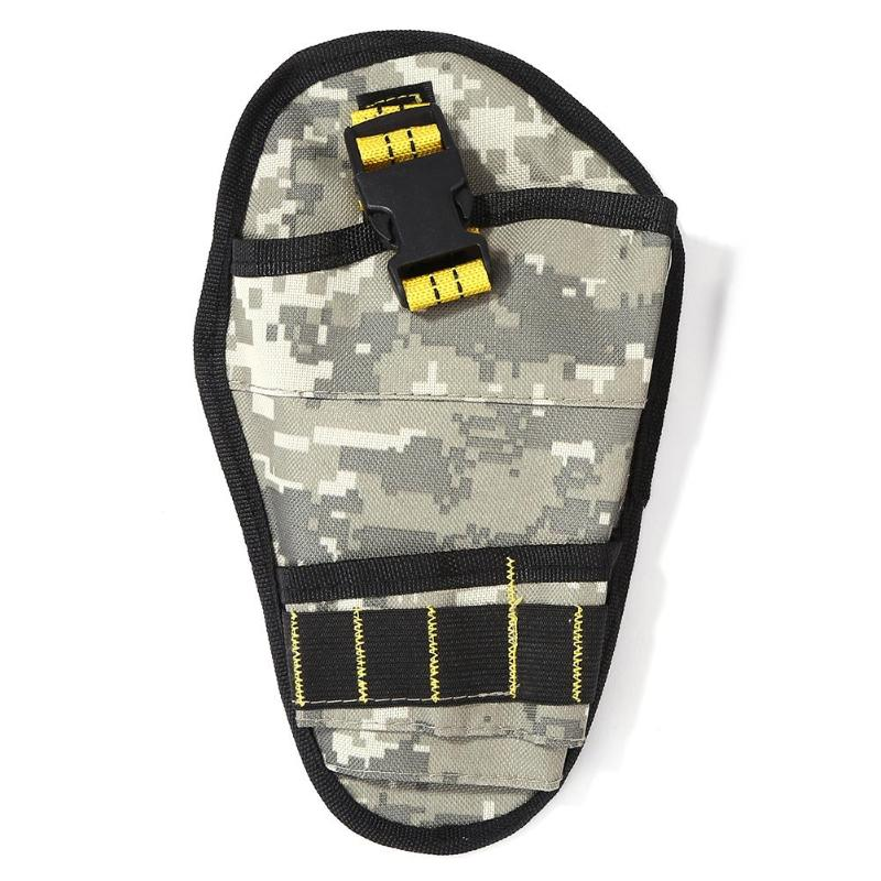Camouflage Polyester Hardware Toolkit Storage Bag Organizer Pouch Waist Pack  Receive Wrenches Pliers Nails Tapes Etc