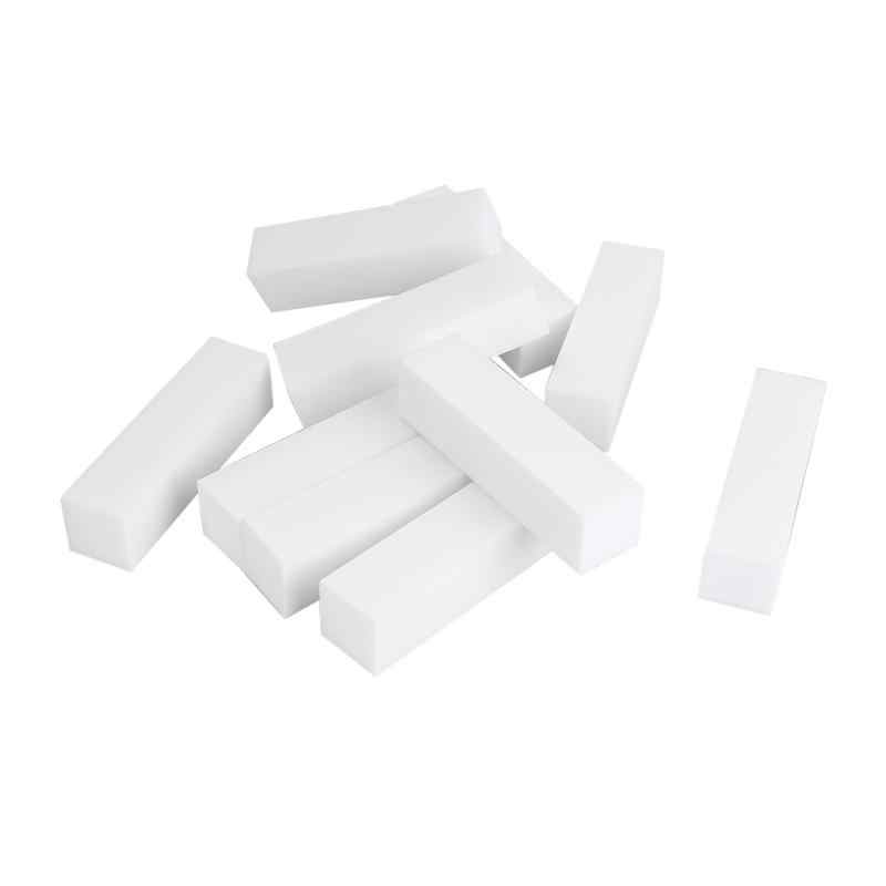 1/2/10pcsทนทานฟองน้ำเล็บแฟ้มสีขาวSanding BUFFER BLOCKอะคริลิคBLOCKภาษาโปลิชคำทำเล็บมือเล็บart TOOL
