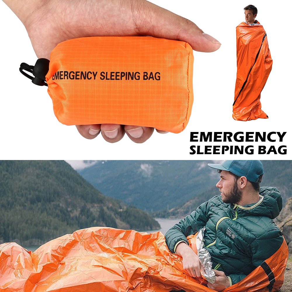 6 Pack High Quality Emergency Blankets Survival Thermal Foil Blanket First Aid Kit For Climbing Camping Running Marathons First Aid Kit Trekking