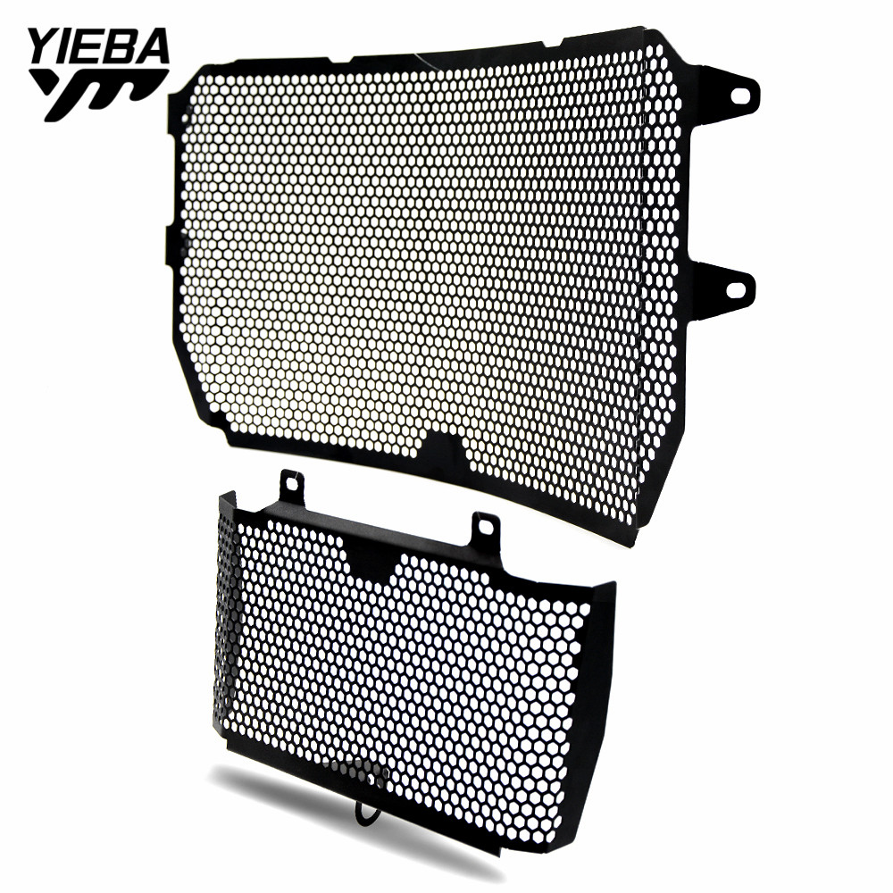 1 set Motorcycle Accessories Radiator Guard Kit Protector Grille Grill Cover for <font><b>YAMAHA</b></font> MT10 SP MT10 <font><b>MT</b></font>-<font><b>10</b></font> FZ10 FZ <font><b>10</b></font> 2016-2019 image