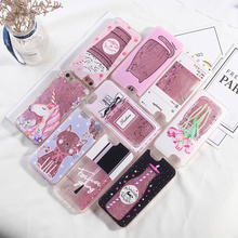 For iPhone 7 Case Liquid Glitter TPU 8 Plus 6 6S 5 5S SE Dynamic X XR XS Max Quicksand Cover