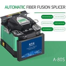 A 80S Green Automatic Fusion Splicer Machine Fiber Optic Fusion Splicer Fiber Optic Splicing Machine Optical Welding Machine