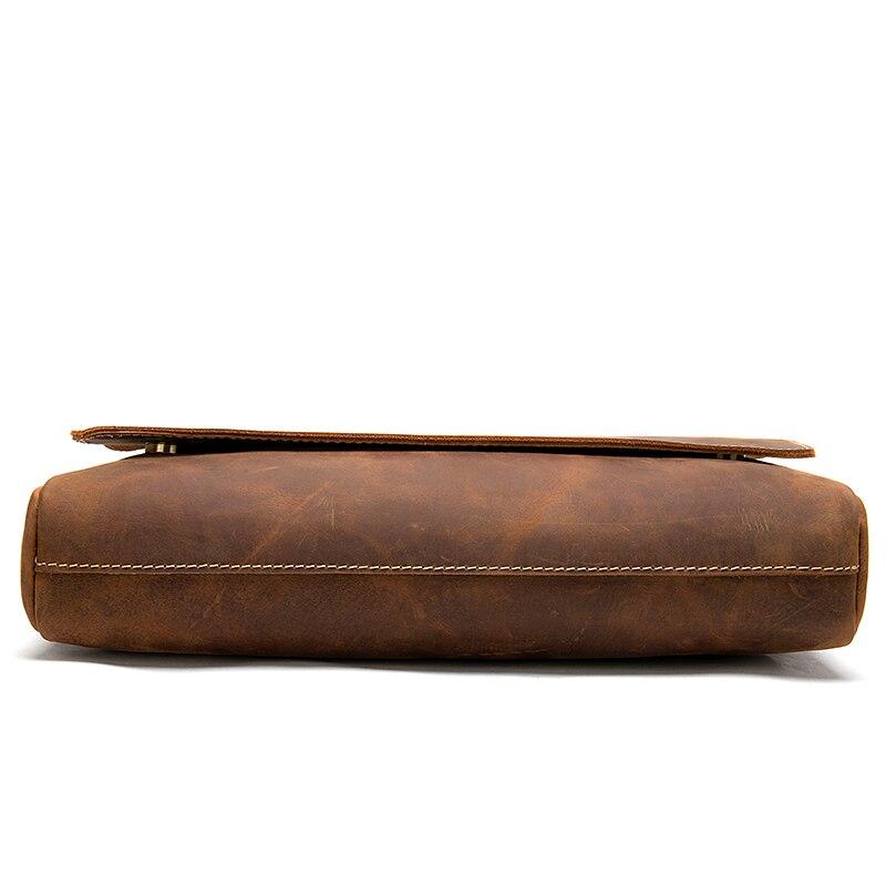 WESTAL Men s Briefcases Laptop Bag Leather Lawyer office Bags Messenger Bags Men s Crazy Horse WESTAL Men's Briefcases Laptop Bag Leather Lawyer/office Bags Messenger Bags Men's Crazy Horse Leather Briefcases Business Bag