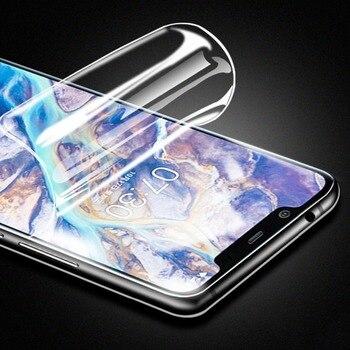 Перейти на Алиэкспресс и купить Для Nokia C5 Endi Передняя Гидрогелевая пленка защита для экрана ультратонкий взрывозащищенный мягкий чехол HD защитная пленка не стекло