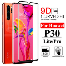 9D Protective Glass on the For Huawei P30 P20 Pro P20 P10 Lite Plus P Smart 2019 Full Screen Protector Tempered Glass Film Case