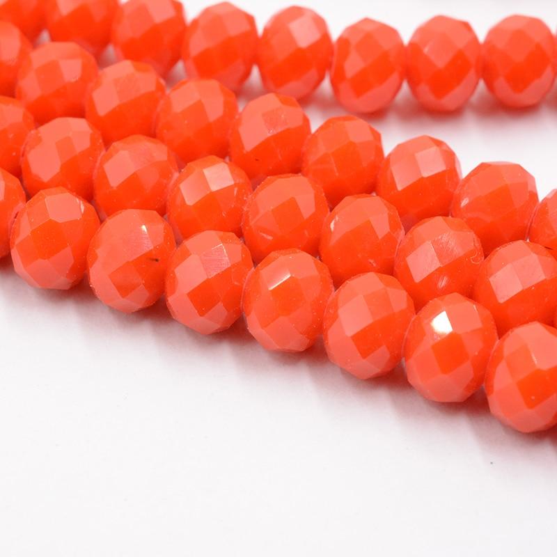 4 мм 140 шт./лот бусины из кристаллов, граненые круглые стеклянные бусины - Цвет: 079