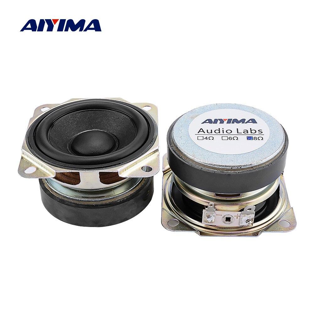 range speakers// audio speakers 4Ohm 6W for diy 2pcs Dual magnet 2.5 inch full