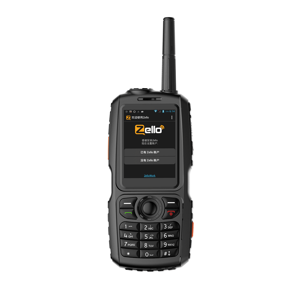 A18 WCDMA/GSM 3G Radio IP68 Water-proof Mobile Phone PTT UHF Walkie Talkie Smartphone Dual SIM Work With Zello PTT