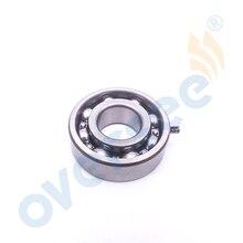 Rodamiento de bolas 93306 204U0 con Pin para Motor fueraborda Yamaha 2T 4HP 5HP 6HP 8HP 20x47x14mm