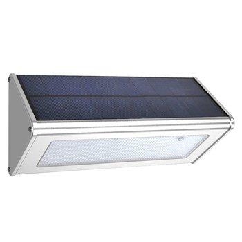 Outdoor Wall Lamp Security Solar Lamp With Motion Sensor Aluminum Street Porch Light Lampada 48 Led 1100LM Waterproof