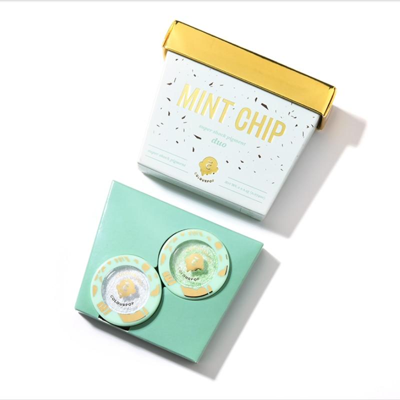 Cool Summer Ice Cream Eyeshadow 2pcs Kit Birthday Cake Eyeshadow Kit