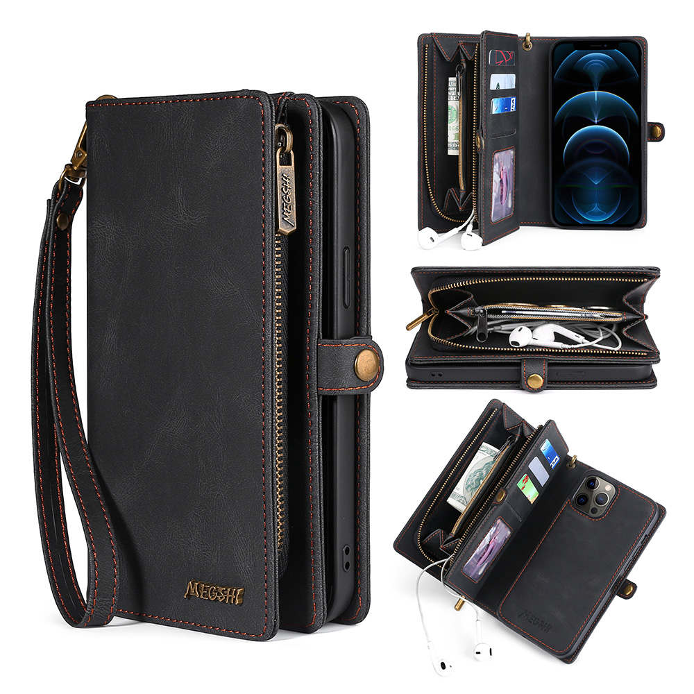 Wallet PU Leather Phone Case For Samsung Galaxy M31 S8 S9 S10 S20 S21 Plus Note20 Ultra A20E A21S A40 A50 A51 A70 A71 S20FE