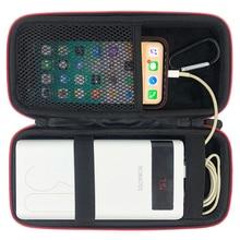 Najnowszy twardy przenośny pojemnik EVA dla Romoss Sense 8 + 30000mAh zasilanie mobilne pokrywa przenośny akumulator torba na telefon PowerBank