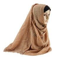 2020 Women Plain Muslim Openwork Design Lace Hijab Ladies Scarf Shawls Head Wrap Turban Islamic Headscarf Pearls Beading Hijabs