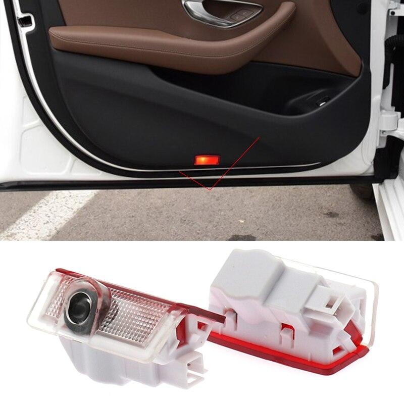 2 шт. светодиодный двери автомобиля лазерный проектор светильник эмблема Ghost Shadow лампа для Mercedes Benz E M класса W212 W166 X166 GLA 220
