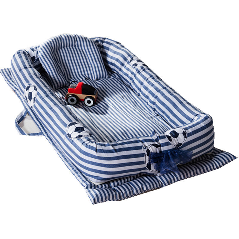 Portable Baby Crib Infant Cots Nursery Sleep Nest Newborn Bassinet Baby Carry Bumper Artifact Foldable Bionics Unpick Wash Bed