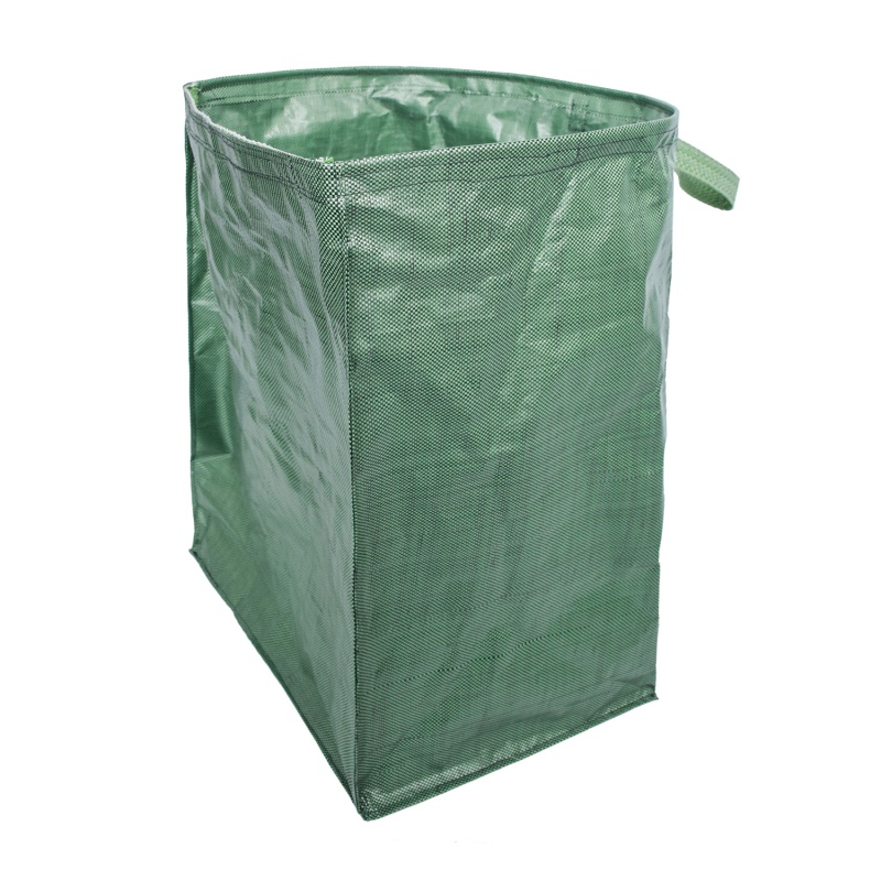 Large Capacity  Outdoor Garden Storage Bag Heavy Duty Leaf Bag Durable Reusable Waste Bag