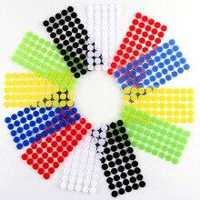100 Пара Velcros самоклеющаяся самоклеящаяся крепежная лента крючки и петли волшебная лента наклейки в горошек Velcros нейлон домашний клей Klitterband