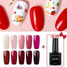 COSCELIA набор гель-лаков для ногтей Набор для ногтей Гель-лак для маникюра Набор для ногтей все для маникюра Набор для ногтей