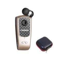 Fineblue f-plus bluetooth fone de ouvido sem fio handsfree chamadas lembrar vibrador usar clip driver para telefone com microfone