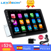 """2.5D IPS Screen RAM 2G universal 9"""" / 10"""" Android 8.1 Octa Core 1din Car Multimedia Player 1024x600 GPS RDS FM radio Mirror Link"""