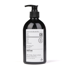 Image 5 - Scandinavian Bath Shampoo Storage Bottle Chic Black Liquid Lotion Bottle Nordic Travel Storage Bottle Organizer Decor 500ml